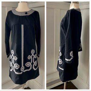 Freestyle Black White Dress NWT